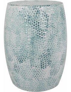 Pouf en métal COLOMBO 1710 Essence - par Arte Espina