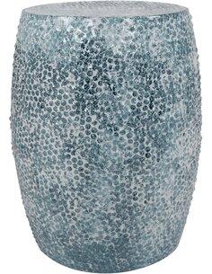 Pouf en métal COLOMBO 2010 Essence - par Arte Espina