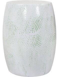 Pouf en métal COLOMBO 510 Vert menthe - par Arte Espina