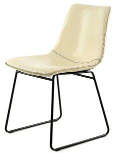 x2 chaises CAILA 110 Blanc Crème - par Arte Espina