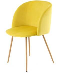 x2 chaises CELINA 110 Jaune - par Arte Espina