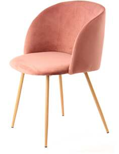 x2 chaises CELINA 110 Rose - par Arte Espina