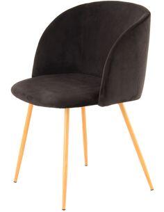 x2 chaises CELINA 110 Noir - par Arte Espina