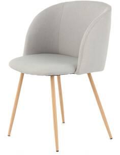 x2 chaises CELINA 210 Gris - par Arte Espina