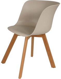 x4 chaises CHRIS 110 Beige - par Arte Espina