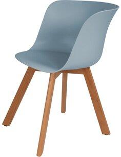 x4 chaises CHRIS 110 Gris Bleu - par Arte Espina