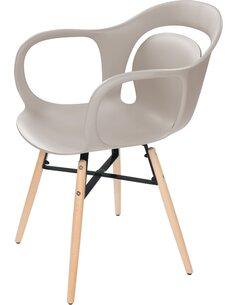 x4 chaises CHUCK 110 Beige - par Arte Espina