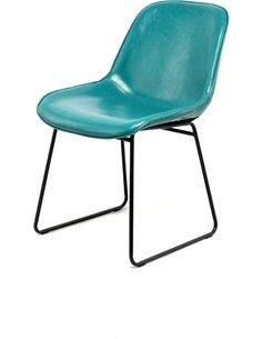 Lot de 2 Chaise Cora 110 Bleu Essence Chaises de cuisine et salle à manger Arte Espina