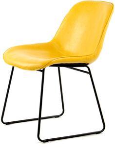 x2 chaises CORA 110 Jaune - par Arte Espina