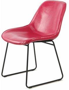 x2 chaises CORA 110 Rose Rouge - par Arte Espina