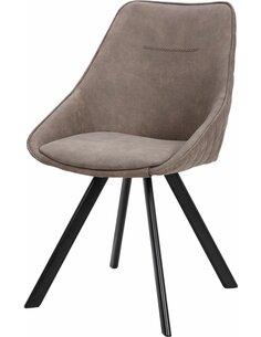 x2 chaises COWBOY 110 Marron - par Arte Espina
