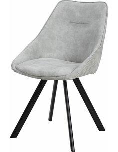 x2 chaises COWBOY 110 Gris - par Arte Espina