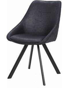 x2 chaises COWBOY 110 Noir - par Arte Espina