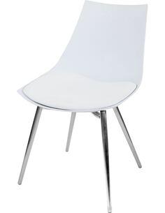 x4 chaises DAKOTA 210 Blanc Chrome - par Arte Espina