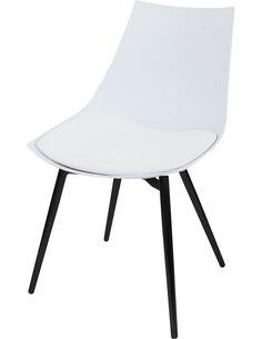 x4 chaises DAKOTA 210 Blanc Noir - par Arte Espina