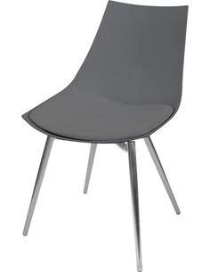 x4 chaises DAKOTA 310 Gris Chrome - par Arte Espina