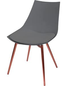 x4 chaises DAKOTA 310 Gris Cuivre - par Arte Espina