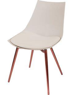 x4 chaises DAKOTA 410 Beige Cuivre - par Arte Espina