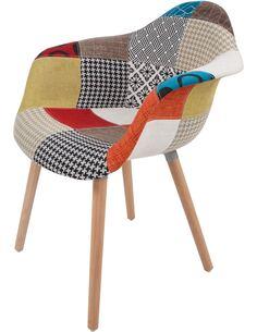 x2 chaises DAVE 110 Multicolore - par Arte Espina