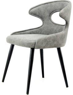 x2 chaises ELIAN 110 Gris - par Arte Espina