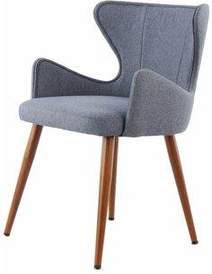 x2 chaises ELWIN 110 Bleu - par Arte Espina