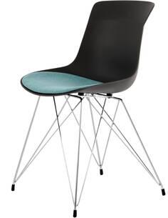 x2 chaises EMILY 110 Noir Essence - par Arte Espina