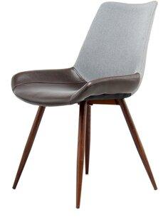 Lot de 2 Chaise à feuilles persistantes 110 Gris Dark Brown Chaises de cuisine et salle à manger Arte Espina