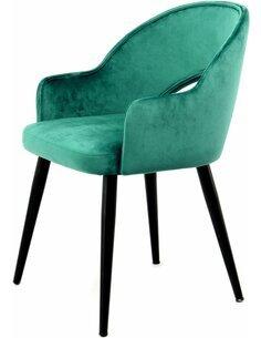 x2 chaises JORIS 110 Vert - par Arte Espina