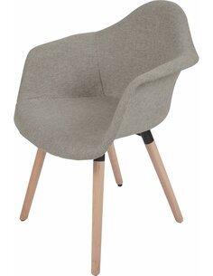 x2 chaises WINSTON 110 Beige - par Arte Espina