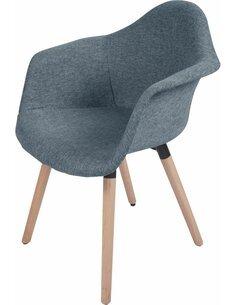x2 chaises WINSTON 110 Bleu - par Arte Espina