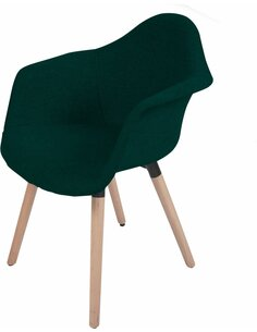 x2 chaises WINSTON 110 Vert - par Arte Espina