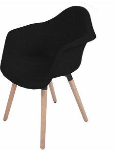 x2 chaises WINSTON 110 Noir - par Arte Espina