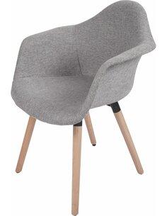 x2 chaises WINSTON 110 Argent Gris - par Arte Espina