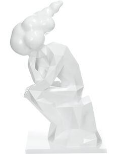 Sculpture KENYA 110 Blanc - par Arte Espina