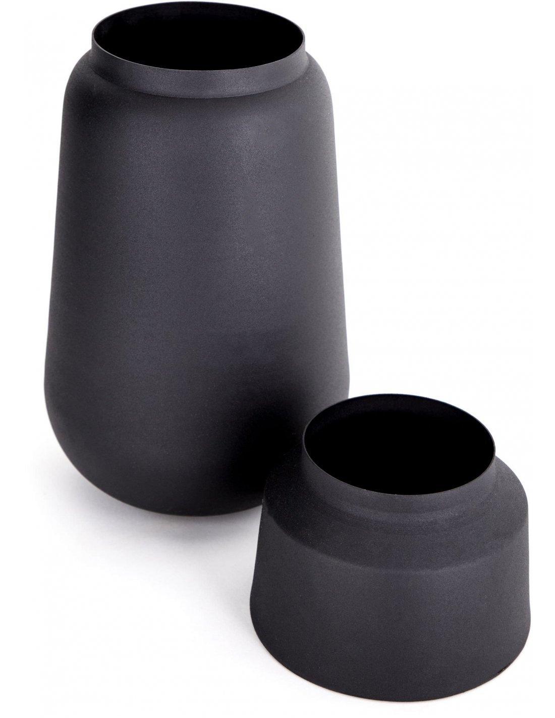 /Étag/ère en Fer Noir Vase en Verre Fleur Ornements Plante Fleur Vase en Fer Simple Divers Home Office Vases /Él/égant D/écor De La Chambre