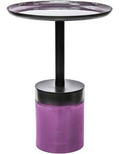 Bout de canapé ARTISTE 910 PLUM Violet - par Arte Espina
