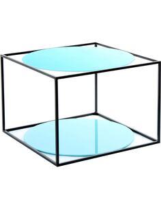 Table basse CODY 110 Bleu Noir - par Arte Espina