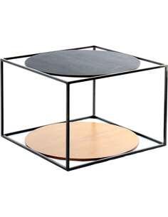Table CODY 110 Noir Noir Noir - par Arte Espina