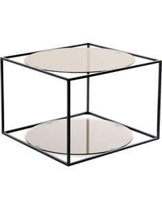 Table CODY 110 Gris Noir - par Arte Espina