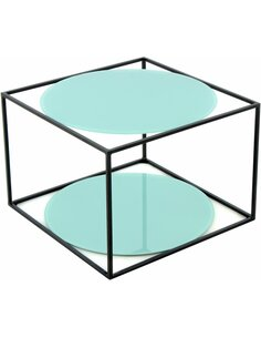 Table CODY 110 Vert Noir - par Arte Espina
