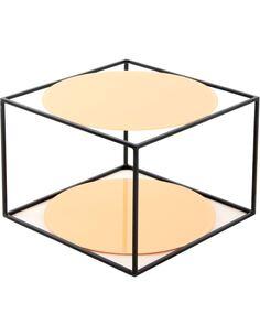 Table CODY 110 Orange Noir - par Arte Espina