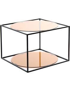 Table CODY 110 TERRA Noir - par Arte Espina