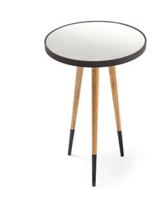 Table d'appoint 160 MARY Noir Naturel - par Arte Espina