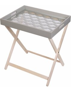 Table d'appoint MICHIGAN 110 Gris - par Arte Espina