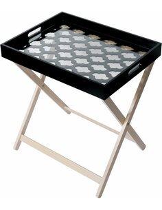 MICHIGAN 110 Table d'appoint Noir - par Arte Espina