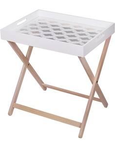 Table d'appoint MICHIGAN 110 Blanc - par Arte Espina