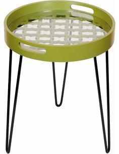 Table d'appoint 110 Vert RIVER - par Arte Espina