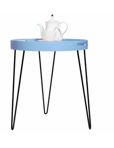 Table d'appoint 210 Bleu RIVER - par Arte Espina