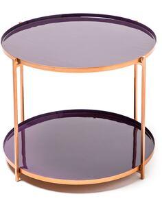 Table TESSA 210 PLUM Violet - par Arte Espina