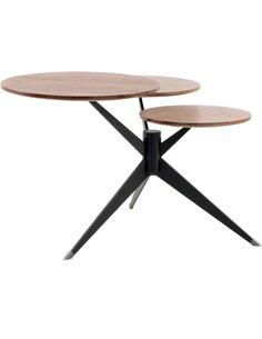 Table TRIPLET 110 Marron Noir - par Arte Espina